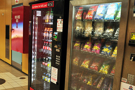 Vending Machines Now Able to Process Credit Cards vs Cash