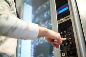 making-a-selection-on-vending-machine